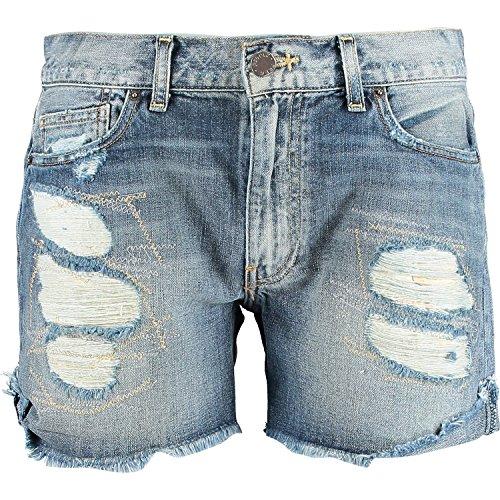 Free People Blue Denim Shorts, Size 27