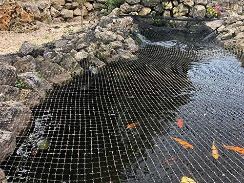 Teichabdecknetz 4x4,2m Teichnetz Teichschutz Fischreiher Laubschutz Abdecknetz