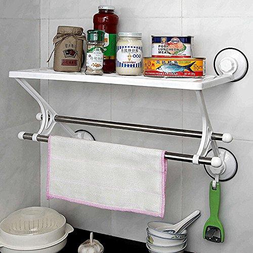 Singolo Strato 2 leva cucina bagno bagno Telaio rack cucina