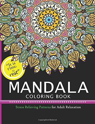 Mandala Coloring Books: Stress Relieving Pattern for Adult,Boys,and Girls