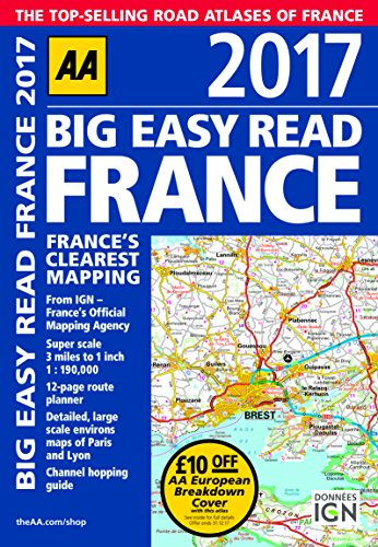 AA-Big-Easy-Read-France-2017-AA-Road-Atlas-Big-Easy-Read-Guides