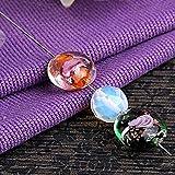 Ecloud Shop Perlas de metal rebordear agujas de encordado de roscado