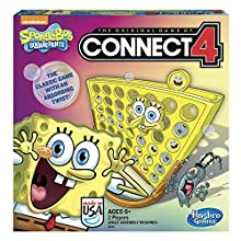 Hasbro SpongeBob SquarePants Toy - Classic Family Connect 4 Game with a Twist - Nickelodeon