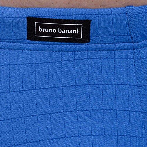 bruno banani Herren Retroshorts Hipshort Check Line Blau (Blau Karo 2249)