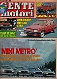 Scarica Libro Gente Motori 11 del Novembre 1981 Renault 18 Turbo Porsche CX (PDF,EPUB,MOBI) Online Italiano Gratis