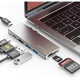 "Hub USB C, dodocool 7 in 1 Adattatore Macbook Pro/Air 16""/13""/15"" con Thunderbolt 3, 4K HDMI, PD 100W, 2 Porte USB-C/USB 3.0,"