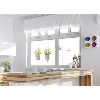 3er set blument pfe f r kr uter blumen k che balkon terrasse oder garten garten. Black Bedroom Furniture Sets. Home Design Ideas