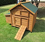 Pets Imperial® Savoy Large Chicken Coop Single Nest Box Suitable For Up to 4 to 6 Birds Depending On Size