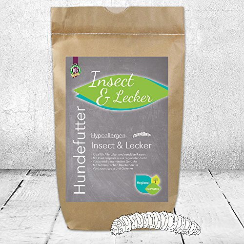 Dogreform Hypoallergen Insect & Lecker 12 kg getreidefreies Trockenfutter ideal für Allergiker und sensitive Hunde mit nutrizeutischen Bausteinen für Verdauungstrakt und Gelenke