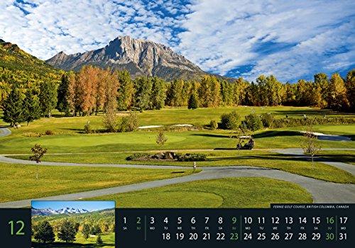 Golf 2018 - Sportkalender / Golfkalender international (49 x 34) - 14