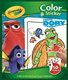 Crayola Color and sticker book Finding Dory - coloring pages & books (Coloring book/album, Boy/Girl, Disney Dory, Dory, Nemo, Marlin)