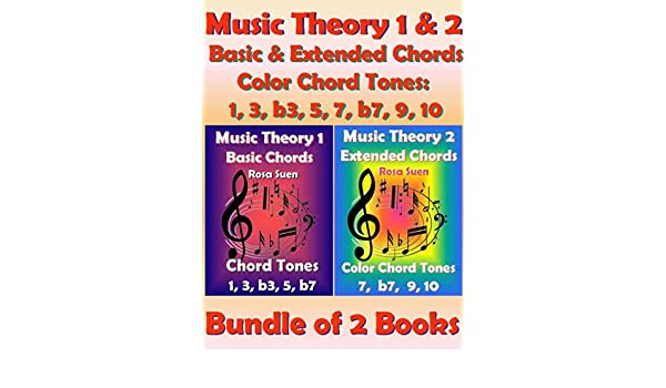 Music Theory 1 & 2 - Basic Chords & Extended Chords - Color Chord ...