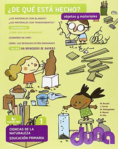 Objetos y materiales. Ciencias de la naturaleza 1. Proyecto Duna - 9788430718825