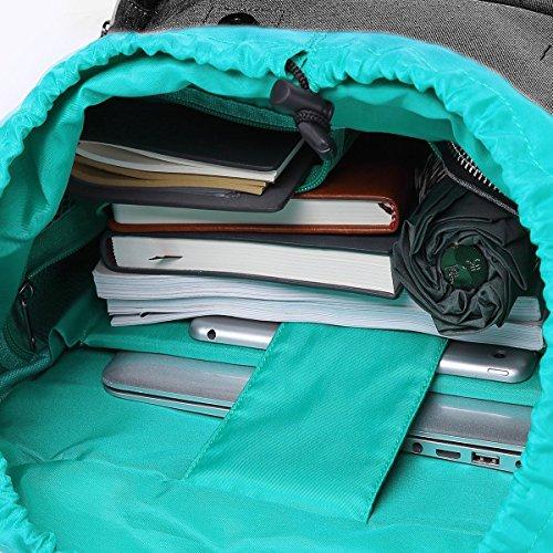 """MOCA Canvas 15.6"""" Black Laptop Backpack Image 4"""