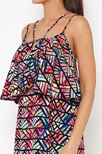 TANTRA Dress9647, Robe Femme Noir
