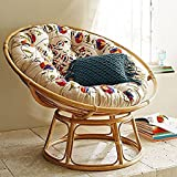#10: Sai Can Furniture Cane Papasan Chair (Multicoloure)