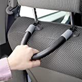 Great Ideas Auto Hand Grips - Set of 2 Headrest Handles - Mobility Car Handles To Help Back / Rear Seat Passengers Get In And Out Of Vehicle More Easily - Great Ideas By Post - amazon.co.uk