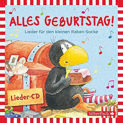 Preisvergleich Produktbild Alles Geburtstag! Lieder für den kleinen Raben Socke (Kleiner Rabe Socke ): 1 CD