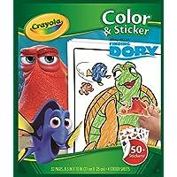 Crayola Libro para Colorear con Pegatinas (Encontrando a Dory)