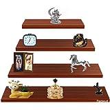 Redwud Prudy Multipurpose Wooden Wall Shelf/Wall Decor Shelf/Wooden Shelves/Display Rack/Multipurpose Wall Shelves for Living