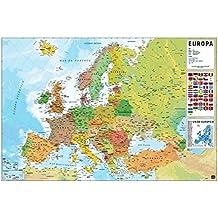 Amazones mapa Europa fisico
