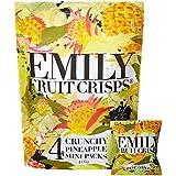 Emily Fruta Crisps 15G Piña Crujiente X 4 Por Paquete