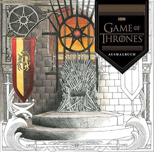 game of thrones malbuch Game of Thrones: Das offizielle Ausmalbuch zur TV-Serie