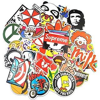 Neuleben Aufkleber Pack (200-pcs) Graffiti Sticker Decals Vinyls für Laptop, Kinder, Autos, Motorrad, Fahrrad, Skateboard Gepäck, Bumper Sticker Hippie Aufkleber Bomb wasserdicht