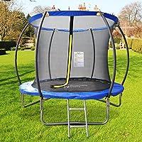Preisvergleich für ULTRAPOWER SPORTS Fitness Trampolin/Gartentrampolin 366 cm 12ft mit Sicherheitsnetz Innennetz und Ideal für Kinder