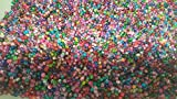 k2-accessories 200 pieces 4mm Crackle Glass Beads - Mixed - A1435 by k2-accessories Crackle Glass Beads