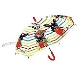Ombrello da Pioggia Multicolore unisex a campana per bambini (Bing Multicolore)