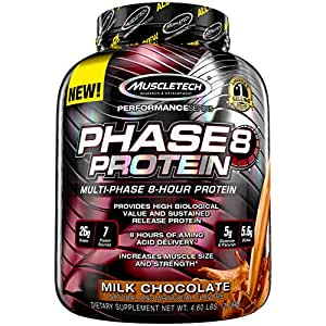Muscletech Phase 8 Protein - 2.09kg (Milk Chocolate)