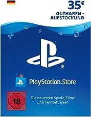 PSN Card-Aufstockung | 35 EUR | PS4, PS3, PS Vita Playstation Network Download Code - deutsches Konto