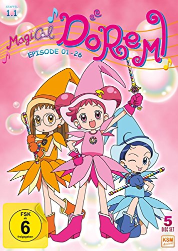 Magical Doremi: Staffel 1.1 (Episode 01-26) (5 Disc Set)