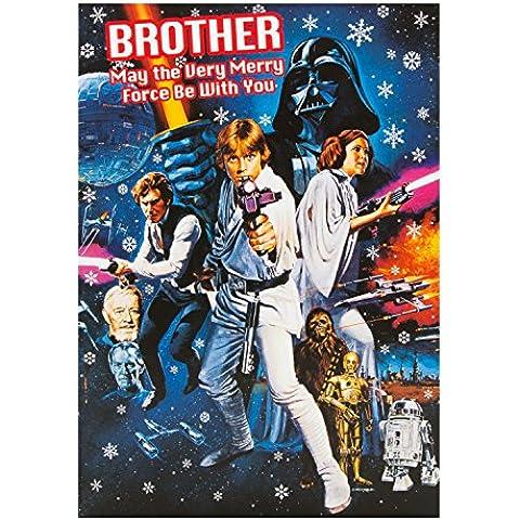 Hallmark–Tarjeta de Star Wars Brother tarjeta de Navidad