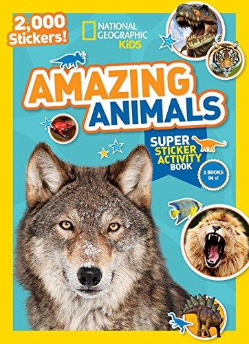 Amazing Animals Sticker (National Geographic Kids)