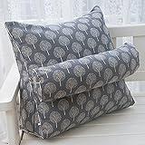 Hochwertiges Kissen --- Nachttisch Dreieck Große Kissen Lenden-Sofa Kissen Büro Kissen Bett Schützen Sie das Nackenkissen --- Pre-Purchase Referenzbeschreibung ( Farbe : 6 , größe : 45*40*20cm )