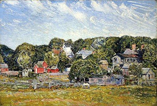 Das Museum Outlet-Amagansett, Long Island, New York, 1920-Leinwand (61x 81,3cm)