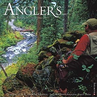 2017 Angler's Fly Fishing Wall Calendar 12 x 12