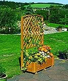Promadino Holz-Rankkasten Flora H 205 cm Kiefernholz massiv imprägniert