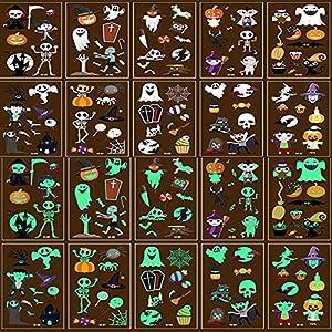 10 Piezas Halloween Pegatinas para