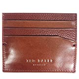 Ted Baker Splitoo Tan Mixed Leather Card Holder