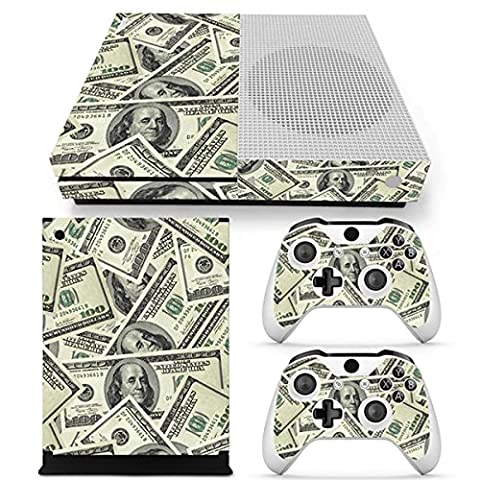 Morbuy Xbox One S Skin Console Vinyle Autocollant Decal Sticker and 2 Manette Skins (US Dollar)