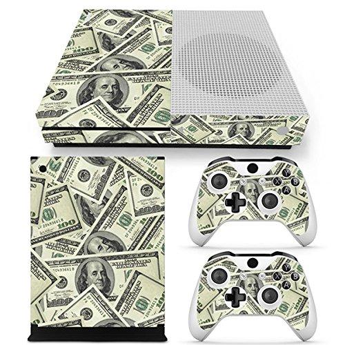 Morbuy Xbox One S Skin Vinly Pegatinas Protective Consola Sticker Decal + 2 Controlador Skins Set (US Dollar)
