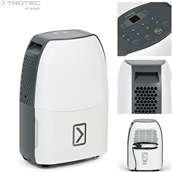 Trotec Deumidificatore TTK 40E (max 14 l ogni 24 ore), ideale per ambienti da 25m²/63 m³