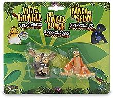 La Panda de la Selva - Blister 2 figuras - Al y Gilbert