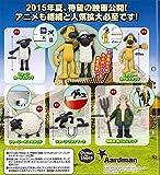 SHAUN THE SHEEP Leben wie ein Schaf SET 5 Mini Abbildung Sammlung SHAUN BITZER SHIRLEY FARMER Gashapon