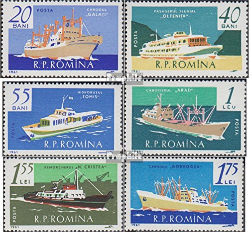 Prophila Collection Rumänien 1972-1977 (kompl.Ausg.) 1961 Schifffahrt (Briefmarken für Sammler) Seefahrt