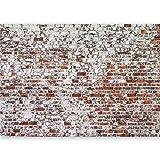 murando - Vlies Fototapete 500x280 cm - Vlies Tapete - Moderne Wanddeko - Design Tapete - Ziegel Mauer mehrfarbig Ziegelstein Steine f-A-0452-a-a