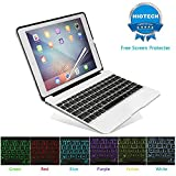 Best Cover For Ipad Airs - HIOTECH iPad Pro 9.7 Keyboard Case Bluetooth Aluminum Review